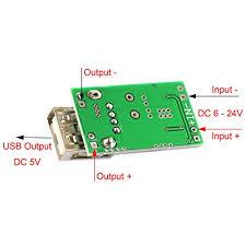 SDTC Tech <b>5pcs Mini USB</b> Buck <b>Converter</b> D- Buy Online in ...