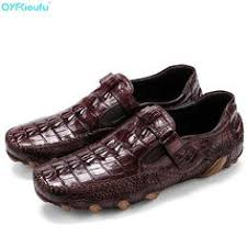 <b>QYFCIOUFU</b> Famous <b>Luxury Brand</b> Slip On Men's Loafers <b>Genuine</b> ...