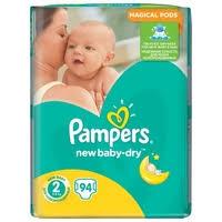 <b>Pampers подгузники New Baby</b>-Dry 2 (3-6 кг) 94 шт. — Подгузники ...