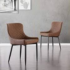 Office Equipment & Supplies <b>2 Pcs</b> Faux Leather Dining <b>Chairs</b> ...