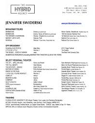 resume jennifer swiderski the official website jennifers swiderski resume