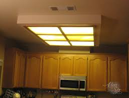 kitchen fluorescent lighting. removing a fluorescent kitchen light box lighting e