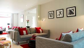 decorating ideas if your space isnt ideal for the placement of sofas across furniture burgundy furniture decorating ideas