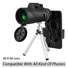 40X60 HD Monocular Telescope with Phone ... - Amazon.com