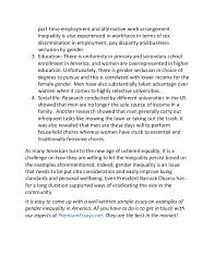 essay on gender discrimination in india  wwwgxartorg essay on gender discrimination in education essay topicsessay on gender discrimination in education