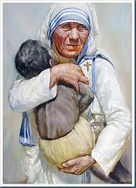 Resultado de imagem para madre teresa de calcutá pintar