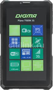 Купить <b>Планшет DIGMA Plane 7565N</b> 3G, 1GB, 16GB черный в ...