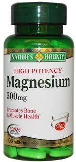 """<b>Магний</b> """"Nature's Bounty"""", таблетки <b>500 мг</b>, №100 — купить в ..."""