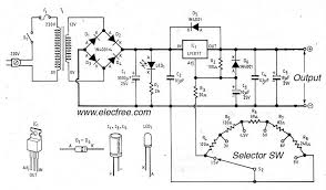make electronic circuit diagram online   circuit wiring diagramadjustable dc voltage supply help    electronics forum  circuits