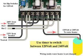 how to wire ge 15207 timer wire ge timer for 120 240 volts