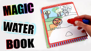 <b>Magic water book</b> with hidden details! Only water needed! - YouTube