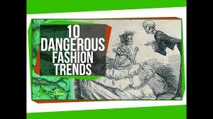 10 Dangerous <b>Fashion Trends</b> - YouTube