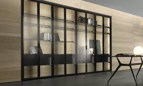 Soffitto In Legno Grigio : Rimadesio porte scorrevoli in vetro e alluminio librerie cabine
