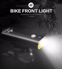 <b>ROCKBROS Bike Headlight</b> Bicycle USB Rechargeable Light ...