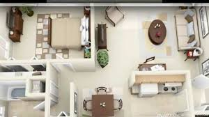 Bedroom Apartment House Plans   YouTube