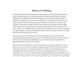 Human Trafficking Thesis Statement Examples Attorney at Law G  Manoli Loupassi introducing quotes in research papers