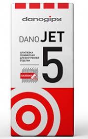 """<b>Шпатлевка полимерная финишная</b> """"DANO JET 5"""" 20 кг."""