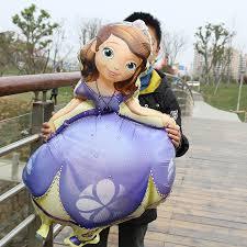 <b>princess balloons</b> cartoon character Sofia themed party Decor ...