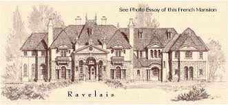 Castle Luxury house plans  manors  chateaux and palaces in    French Chateau       SF  above and below  description