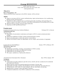 sample resume for hvac tech sample resume for hvac tech 580x500 hvac hvac technician sample resume