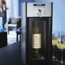 this portable wine system keeps your drink perfectly chilled awesome portable wine cellar
