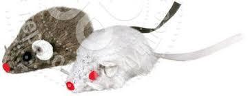 <b>Игрушка для кошек Trixie</b> Мыши 5см 2шт - купить недорого по ...