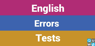 English Errors Tests - Apps on Google Play