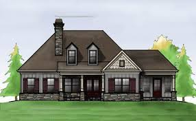 Small House Plans   Small Home Designs by Max Fulbrightone story cottage house plan   porches and
