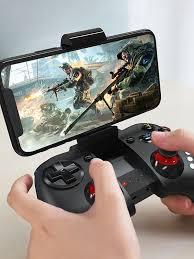 <b>Hoco GM3</b> Wireless Gamepad Joystick With Phone Holder For ...