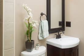 bathroom vanity mirror ideas modest classy: vintage guest bathroom ideas  bathroom interior modern decorating ideas for guest bathroom with curved brown wooden bath vanity and sink also black polished iron faucet with bathroom designer plus bathroom designs ideas marvelous x