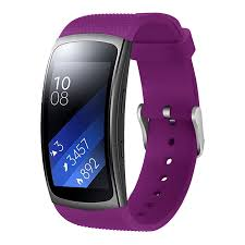 1 Purple Replacement <b>Bracelet For Samsung Galaxy</b> Gear Fit SM ...