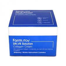 [<b>FARM STAY</b>] <b>DR</b>-<b>V8 Solution</b> Collagen Cream