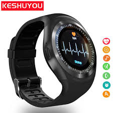 <b>KESHUYOU</b> Camera <b>Smart watch</b> Bluetooth 2G <b>Men smartwatch</b> ...