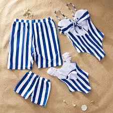 family <b>swimwear</b> palm tree matching <b>swimsuit mother daughter</b> baby ...
