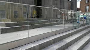 glass railings victoria topless balcony railing company open top interior glass banister stair safety treads modern balustrade affordable home fencing furniture ennis clare for and