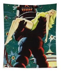 Forbidden Planet In <b>Cinemascope Retro Classic Movie</b> Poster ...