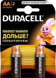 <b>Батарейка DURACELL LR6</b>(<b>АА</b>) 2шт/уп - купить в СПБ по цене ...