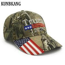 New Donald Trump 2020 Cap Camouflage <b>USA Flag Baseball Caps</b> ...
