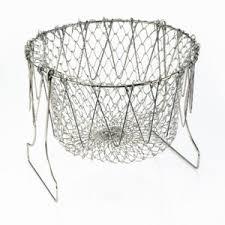 <b>Складная решетка</b> для приготовления пищи Chef Basket Шеф ...