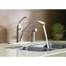 essex handle standard kitchen faucet kohler forte single handle standard kitchen faucet with side sprayer i