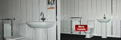 panel bathroom wall