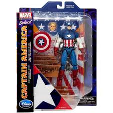 <b>Marvel Select</b> Captain America Action Figure [<b>2019</b>] : Target
