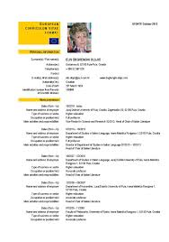 european cv format exons tk category curriculum vitae