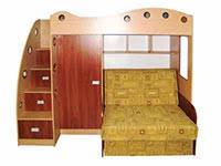 Необычная <b>кровать чердак</b> с диваном. Максимум <b>комфорта</b> ...