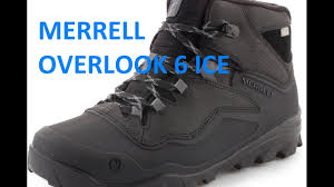 <b>БОТИНКИ MERRELL</b> OVERLOOK 6 ICE+ waterproof 2016-2017 ...