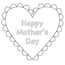 Image result for print out mothers day coloring pages