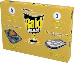 "Средство от <b>тараканов Raid</b> ""Max"": 4 <b>приманки</b>, регулятор ..."