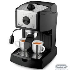 Рожковая <b>кофеварка DeLonghi EC 156</b> B купить в интернет ...