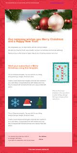 christmas tree email template template sendpulse holiday email template