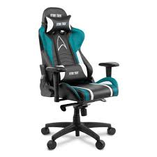 <b>Кресло</b> геймерское <b>Arozzi Gaming Chair</b> - Star Trek Edition - Blue ...